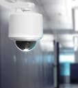 Vicon security camera on ceiling