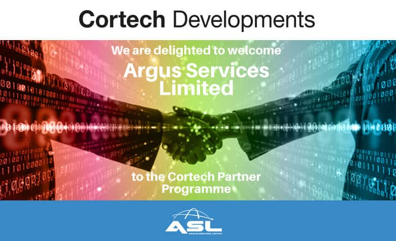 Cortech Developments are delighted to welcome Argus Services Limited to the Cortech Partner Programme.