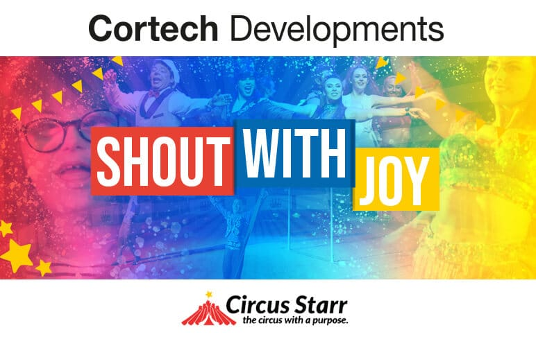 Cortech are delighted able to support Circus Starr